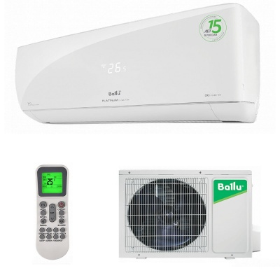 Настенная cплит-система Ballu серии Platinum Evolution DC Inverter BSUI-09HN8