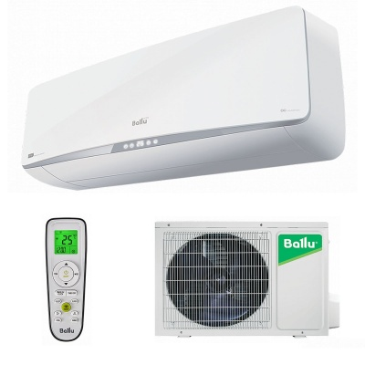Настенная cплит-система Ballu серии Platinum DC Inverter White Edition BSPI-24HN1/WT/EU