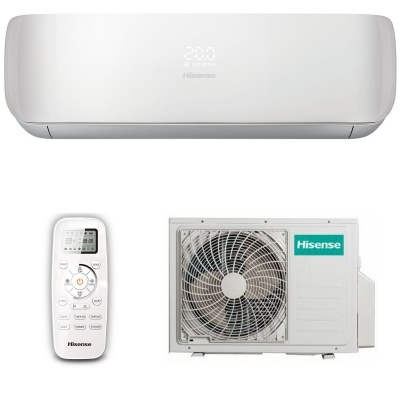 Настенная cплит-система HISENSE серии PREMIUM SLIM DESIGN SUPER DC Inverter AS-10UR4VPSC5(W)
